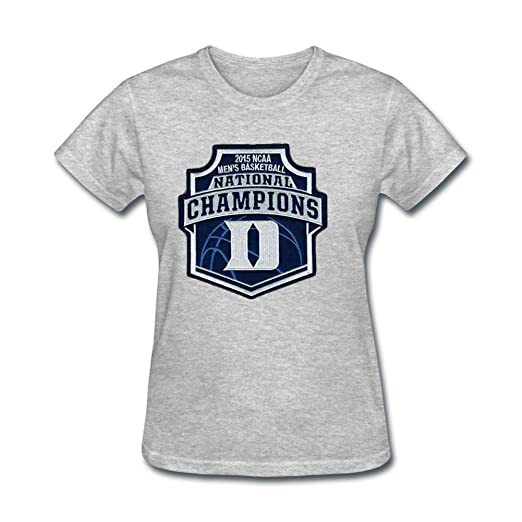 fadea889773c Image Unavailable. Image not available for. Color  Women s Duke Blue Devils  2015 National Champs Short Sleeve T-Shirt