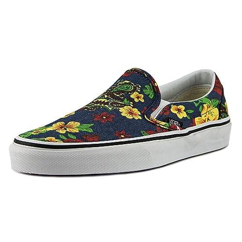 On Slip Zapatillas Vans Amazon Complementos Flores es Y Zapatos qFwRgH