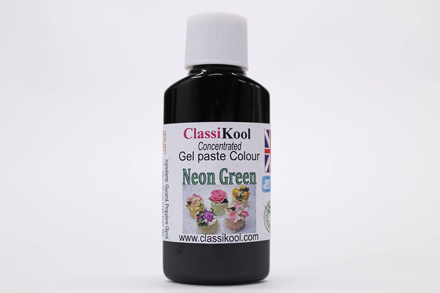 Classikool 30ml Neon Green Concentrated Gel Food Paste Colouring ...