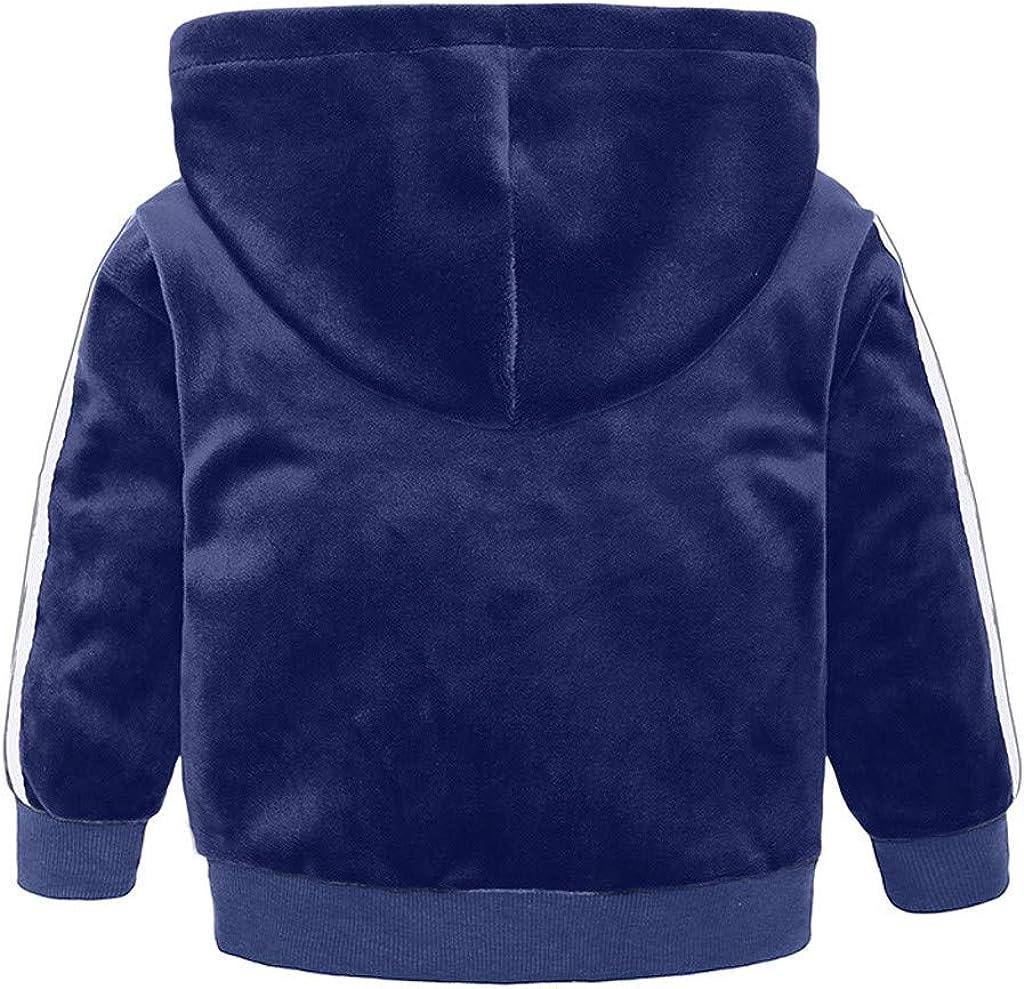 Tuta Bambino Capispalla Invernali Per Bambini,1-8 Anni Set Completo Di Pantaloni Lunghi Per Bambini In Felpa Con Cappuccio Caldo In Pile Per Bambina Piumino Caldo Invernale Da Ragazzo Con Cappuccio