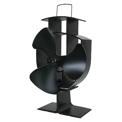 Tellabouu for 3 aspas, Ventilador de Estufa accionado por Calor, Ventilador de Estufa accionado