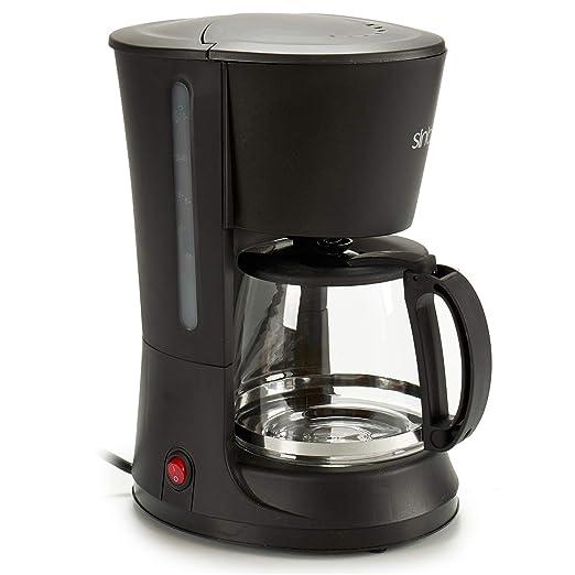 Sinbo Cafetera con Jarra de Cristal, Potencia 680w y Capacidad 1,2 ...