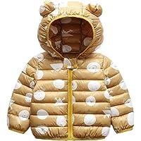 Bebé Chaqueta Invierno, Niños Niñas Abrigo con Capucha Traje de Nieve Manga Larga Outfits Calentar Warmer Regalos Ropa 6…