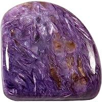 Gems&JewelsHub 39.05CTS 100% Naturale Fabulous Designer Charoite Gemma Sciolto Fantasia cabochon