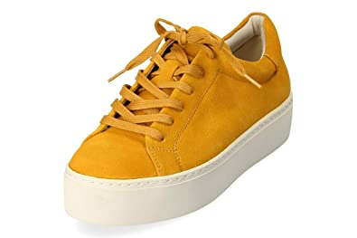 Vagabond Damen Jessie Plateau Sneaker Low Gelb Gr. 38