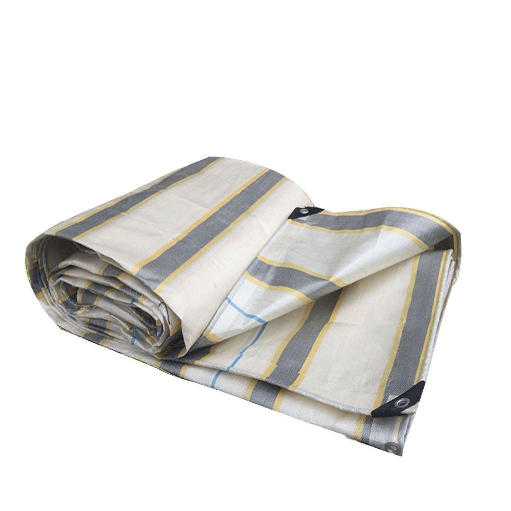 ZhHOME Wasserdichte Sunscreen-Plane, Starkes Abdeckungs-Tuch im Freien, für Fracht-Garten im Freien, Multi Größe wahlweise freigestellt B07F9215Q7 Eisangeln Sehr gute Farbe