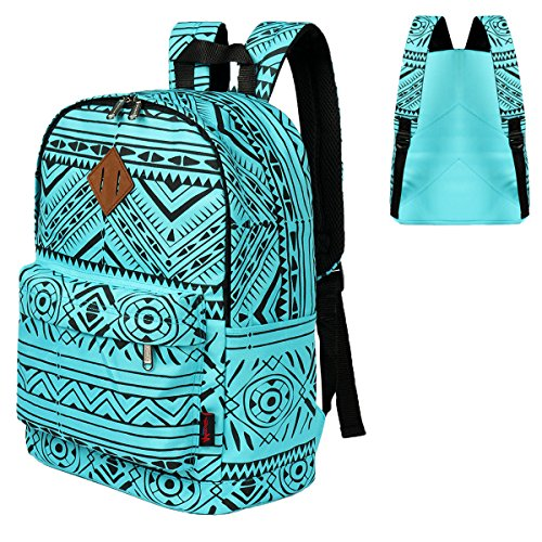 Blue Tribal Backpack