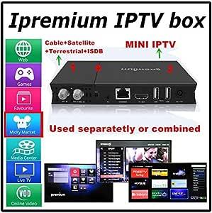 ipremium i9stc Sat/Cable/DVB-T/IPTV Setup Box Quad Core, Mick yhop ...