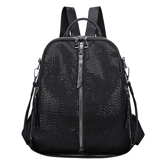Damen Herren Backpack Rucksack Ethnisch Schulrucksack Freizeit Schultertasche DE