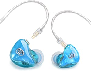 BASN Tempos Pro V Musicians'in-Ear Monitors with Detachable Cables, Universal-Fit and Noise-Isolating
