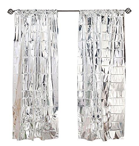 WalterDrake Reflective Window Curtain Panel ()