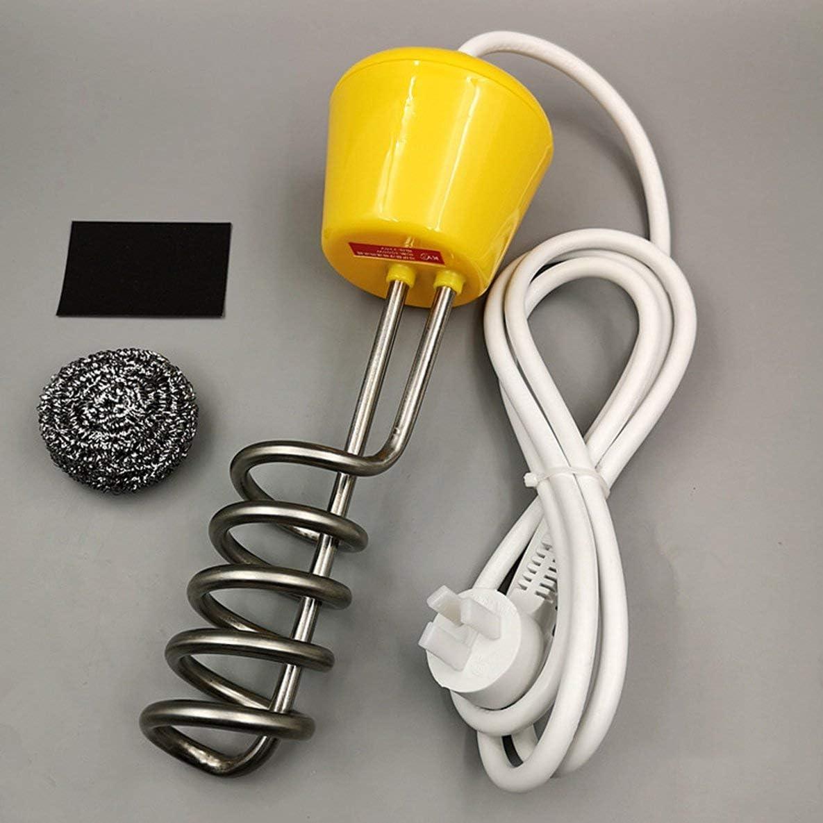 Rouku Calentador de suspensión Acero Inoxidable rápido y Caliente 3000 W Bañera Bañera Calentador de Alta Potencia Caldera de Agua