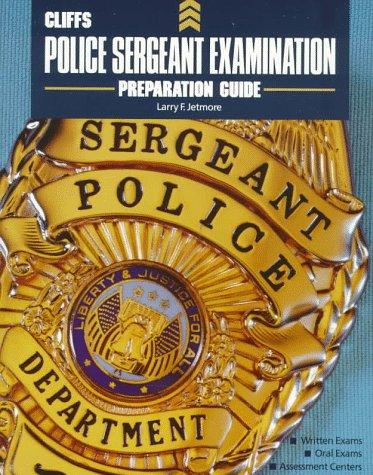 CliffsTestPrep Police Sergeant Examination (Test Preparation Guides Series)