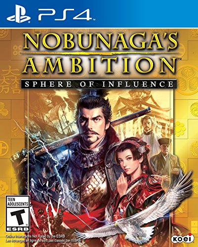 Nobunaga's Ambition: Sphere of Influence - PlayStation 4 (Best War Strategy Games Ps4)