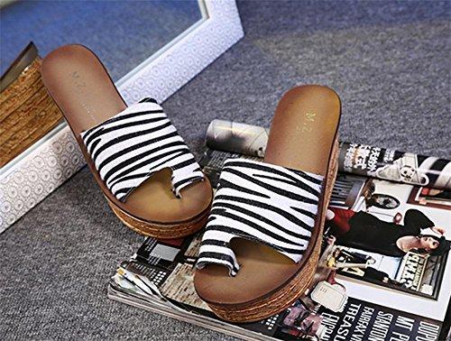 Coole Pantoffeln Sommer Dame Mode Dick Sandalen