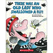 There Was an Old Lady Who Swallowed a Fly!: A Board Book
