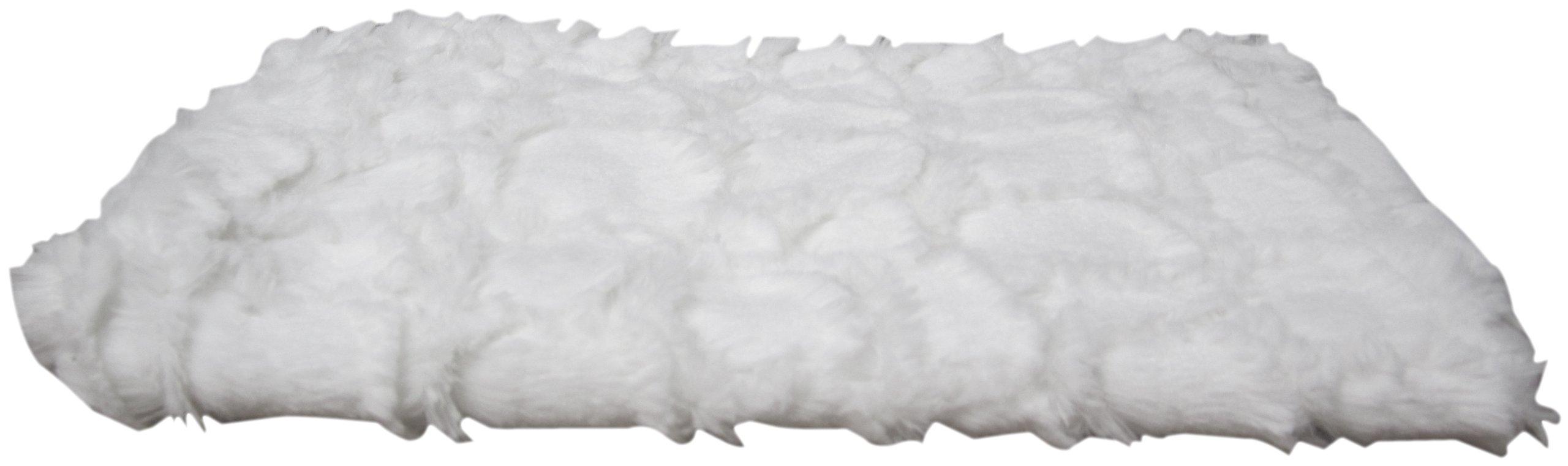 Baby Doll Bedding Sherling Blanket, Ivory