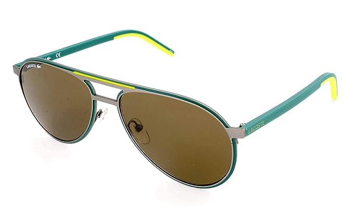 Lacoste L193S 024 58 Gafas de Sol, Matte Dark Grey, Unisex ...