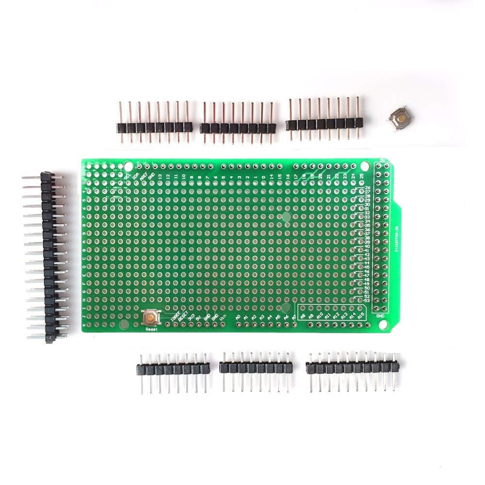ARCELI Prototype PCB for Arduino MEGA 2560 R3 Shield Board DIY