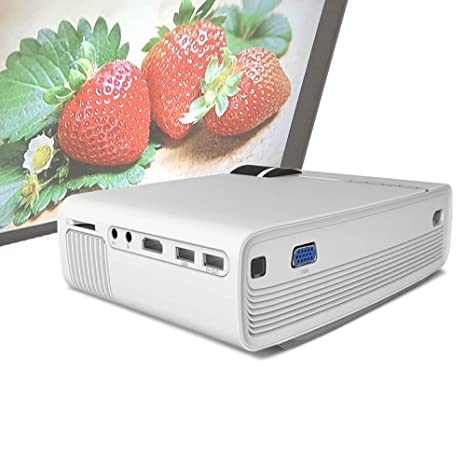 Amazon.com: Zichen Video Projector, LCD LED Full HD Theater ...