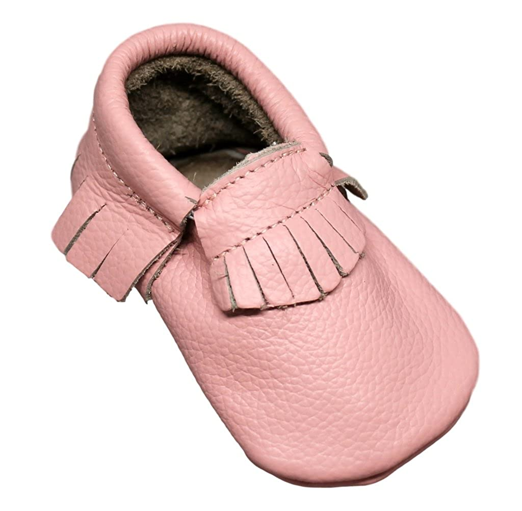 d8e01eb7cf19f Amazon.com: Trendy Ends Baby Moccasin in Genuine Leather: Shoes