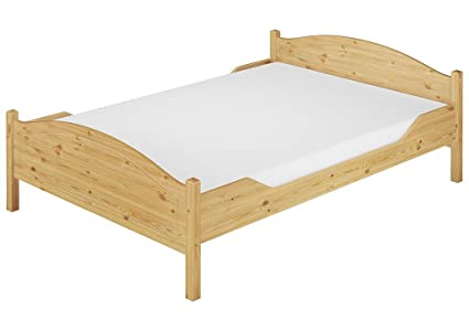 Cucina In Pino Naturale : Erst holz letto matrimoniale doghe 140 x 200 pino a doghe materasso