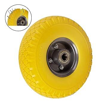 2X rueda de carretilla (260 mm Cochecitos de neumáticos goma rueda de repuesto 3.00 -