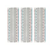 KEYESTUDIO 830 Breadboard Solderless Kit 3 pcs for Arduino Breadboard Prototyping