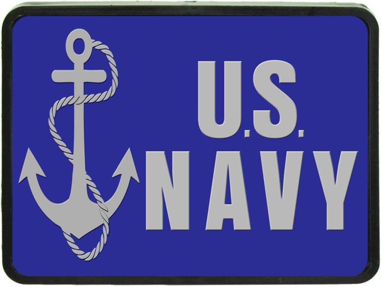 US Navy Custom Hitch Plug for 1 1//4 receiver from Redeye Laserworks