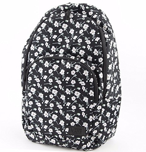 - Vans Schooling Backpack (Black/Pink-Floral)