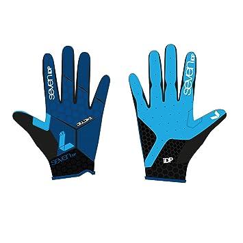 7iDP Tactic Glove MTB Downhill Blue Black B01NCJM3OL