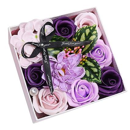 Amazon Com Formemory Handmade Creative Flower Box Artificial