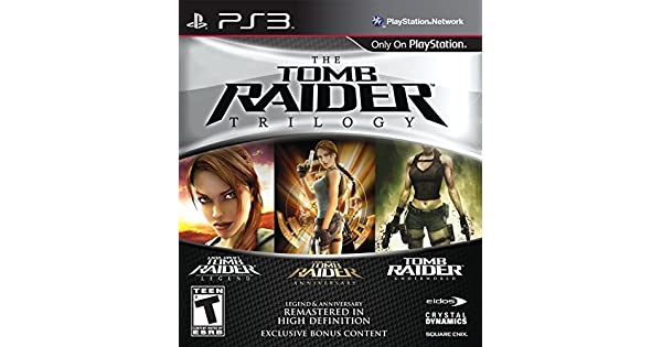 Amazon Com Tomb Raider Trilogy Square Enix Llc Video Games