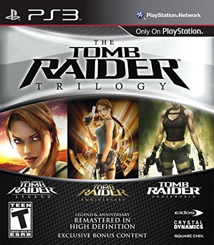Tomb Raider Trilogy (Crystal Dynamics Rise Of The Tomb Raider Ps4)