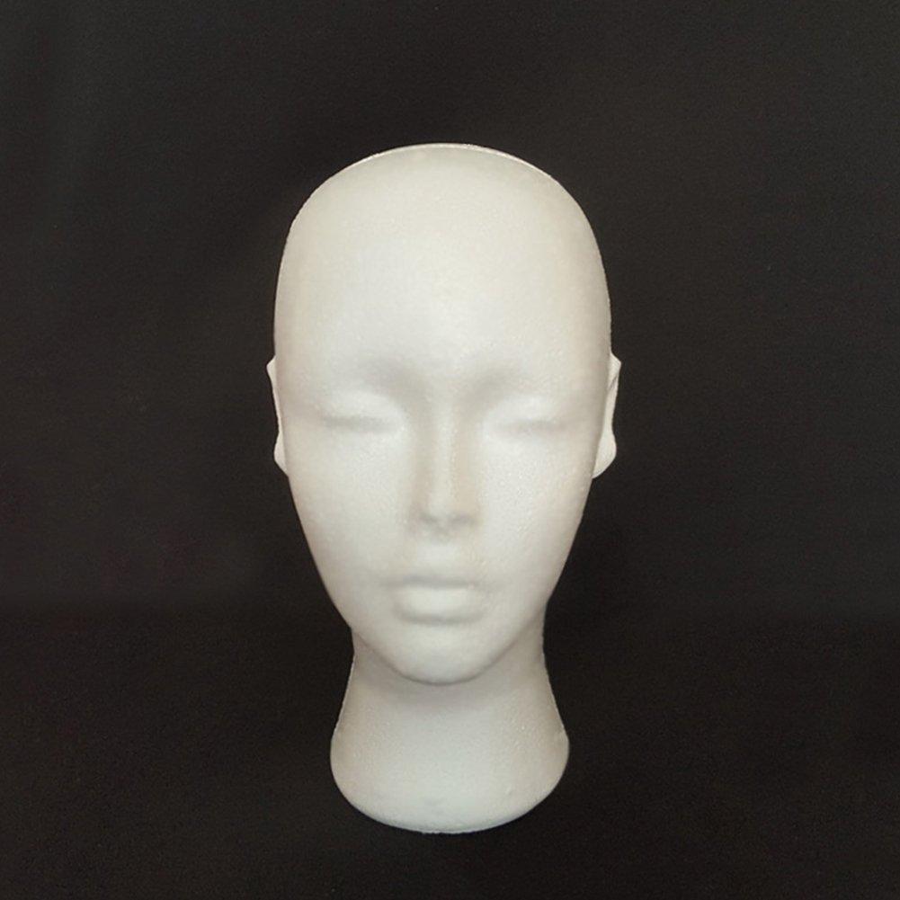 Female Foam Mannequin Head Manikin Model Cap Hat Wig Shop Display Holder Stand Suberde