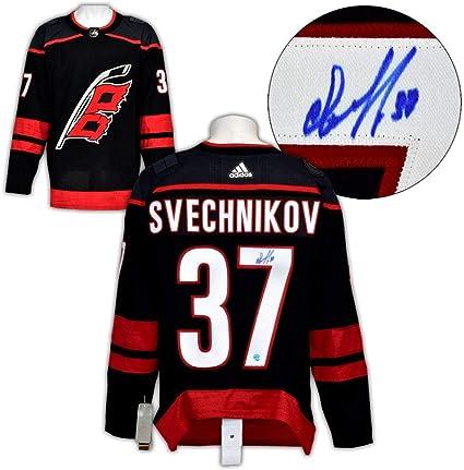 Andrei Svechnikov Autographed Jersey