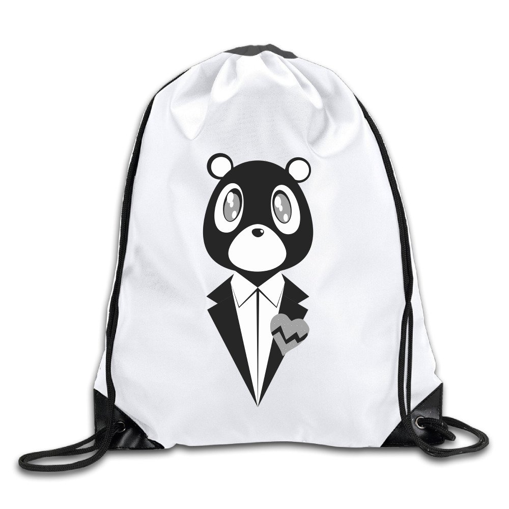OYOLOY Kanye West Bear Drawstring Backpack Sack Bag / Travel Bags OYOLOY CO.Ltd.