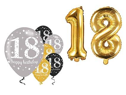Fija celebran Cumpleaños Decoración para 18 cumpleaños I 8 ...