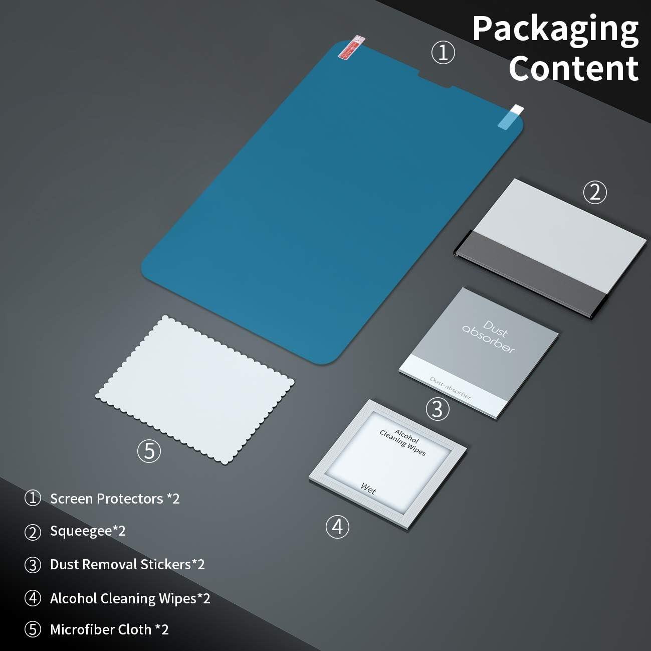 Ultra Slim Mat Protege Ecran Anti Reflet Film de Papier 2 pi/èces Parfaitement Dessiner et /Écrire avec Apple Pencil RIWNNI Protection /Écran pour iPad Air 4//iPad 10.9 2020//iPad Pro 11 2020//2018