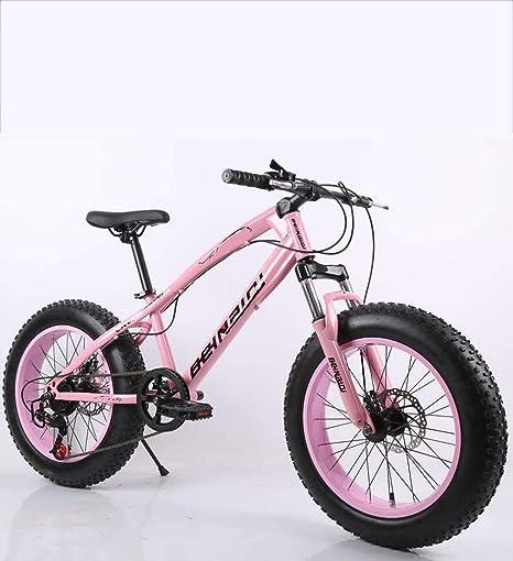 Fitness Deportes al aire libre Fat Tire Hombres Bicicleta de montaña Doble freno de disco / Bicicletas