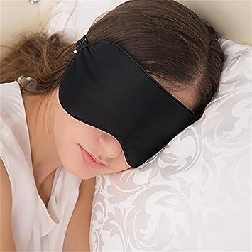 Antifaz para dormir Cinoyoni, grande, extra suave, 100% de seda de mora, para viaje: Amazon.es: Salud y cuidado personal