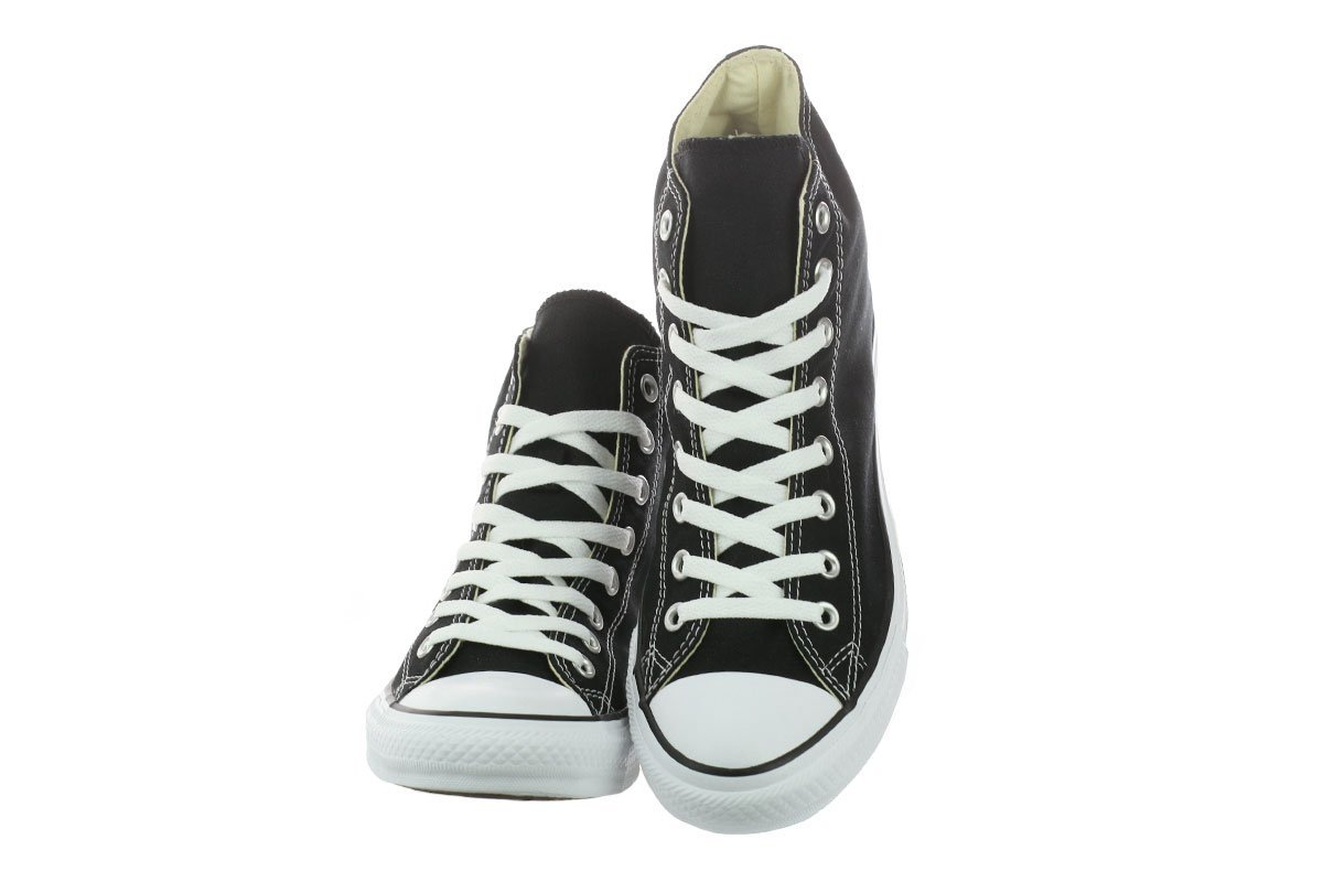 Converse Unisex Chuck Taylor All-Star High-Top Casual Sneakers Color in Classic Style and Color Sneakers and Durable Canvas Uppers B076CTSZX4 10.5 D(M) US / 12.5 B(M) US / 44-45 EUR|Black f3abf9