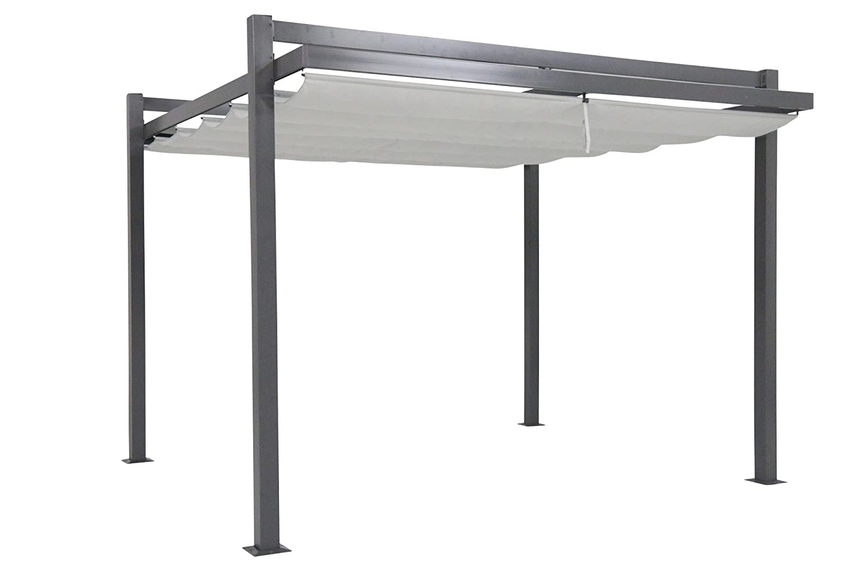 Pavillon X Design : Leco pavillon design pergola anthrazit  cm