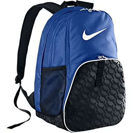 b5de68fca3 Image Unavailable. Image not available for. Color  The Nike Brasilia 6 XL  Backpack Game Royal Black White ...
