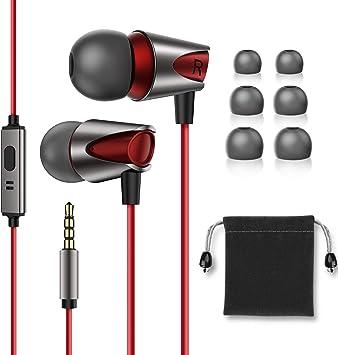 Kuulaa - Auriculares in-Ear con Cable y micrófono para iPhone/iPad ...