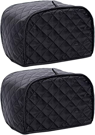 Petsola 2 Pcs Polyester Quilted Two Slice Cover Oven Small Appliance Covers Amazon Co Uk Kitchen Home