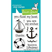 """Lawn Fawn Clear Stamps 3""""X4"""" - Float My Boat (Pack of 2)"""