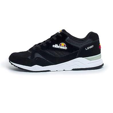 ellesse SHFW0347 Black White, Sneakers Basses Homme - - Noir Blanc ... 6ecbaf7e4f13