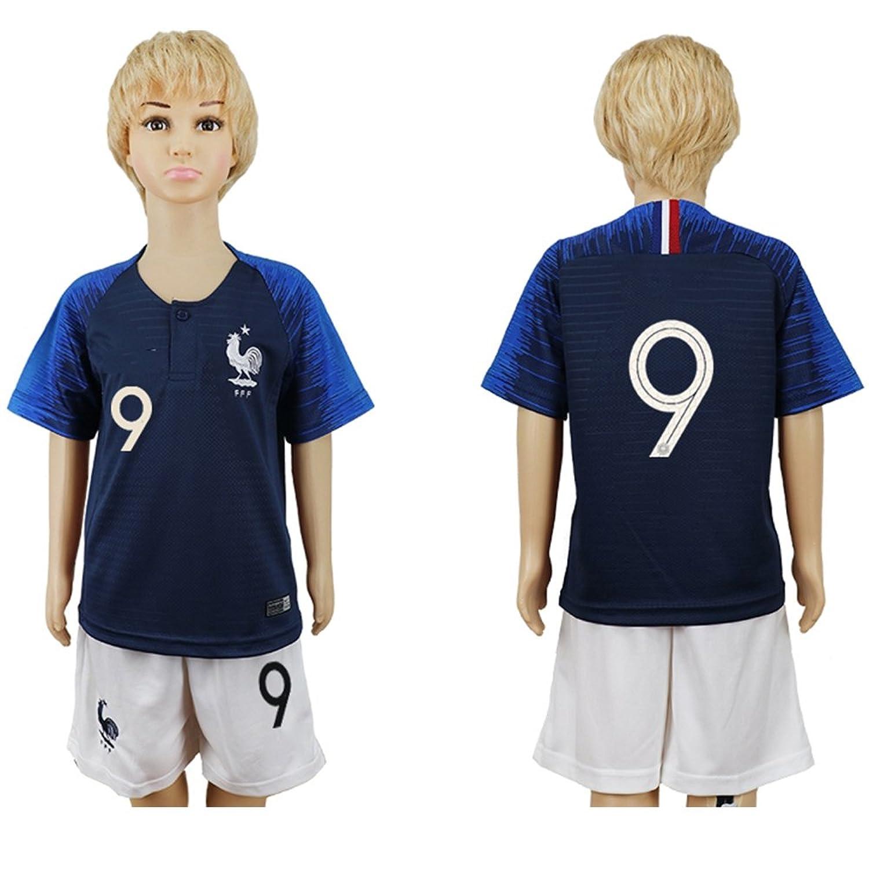 sale retailer c5e52 2054a Puizozi 2018 Russia World Cup France National Team #9 Kids ...