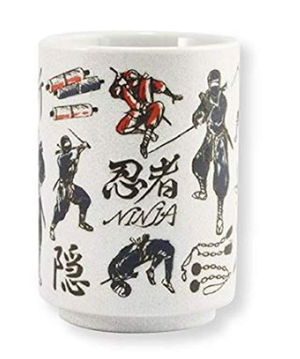 Amazon.com | Sugar Land YAMATO寿司 湯呑 忍者 Sushi Tea cup ...